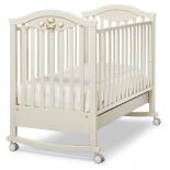 детская кроватка Erbesi Amour, слоновая кость