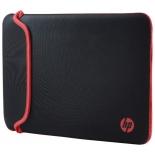 сумка для ноутбука Чехол HP Chroma 15.6 V5C30AA, черный с красным