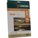 фотобумага Lomond 0102003  (А4, 120 г/м2, 100 листов)