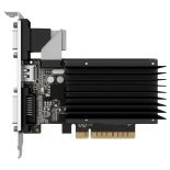 видеокарта GeForce Palit GeForce GT 710 954Mhz PCI-E 2.0 2048Mb 1600Mhz 64 bit DVI HDMI HDCP Silent