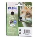 картридж для принтера Epson T1281, чёрный