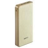 аксессуар для телефона Внешний аккумулятор InterStep PB16000 Beige 16000 мАч, бежевый