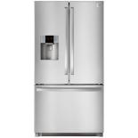 холодильник Daewoo RF64EDG серебристый