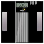 весы напольные UNIT UBS-2210, чёрные