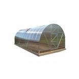 теплица Воля Дачная (каркас + поликарбонат 4 мм) 2ДУМ-4м