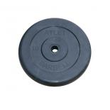 диск для штанги MB Barbel Atlet 31 мм, 10 кг чёрный