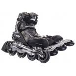 роликовые коньки Blackwheels BW-720 (размер 45), черно-серые