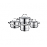 набор посуды Kelli KL-42618-и предметов, нержавеющая сталь