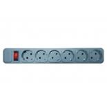 сетевой фильтр Centek СТ-8901-6-1,8 серый