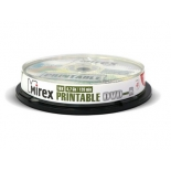 Оптический диск Mirex DVD-R 4.7 Gb, Ink Printable (10 шт)