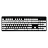 клавиатура Oklick 580M slim черная
