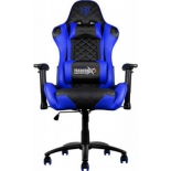 игровое компьютерное кресло ThunderX3 TGC12-BB, черное/синее