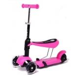 самокат Scooter M-1, розовый