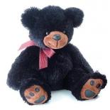 игрушка мягкая Aurora Медведь 70 см, чёрный