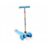 самокат Moove&Fun MINI LED MF-MINI-LED, голубой