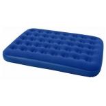 надувная кровать Bestway Flocked Air Bed Twin Plus, синий
