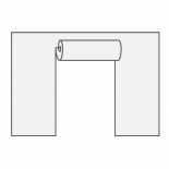 шатёр Торцевая стенка YTCP-FW-6 с дверями