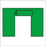 шатёр Стенка Торг-Хаус, JFG-SR-3-G (с дверью) зеленая