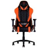 игровое компьютерное кресло ThunderX3 TGC15-BO, черное/оранжевое