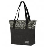 сумка женская Nosimoe 057-03D (орнамент-черный)