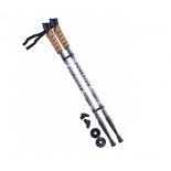 палки для скандинавской ходьбы Berger Forester (67-135 см), серо-чёрные
