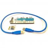 аксессуар компьютерный Foxline RC-008SL (PCI-E -> 1x PCI-E x16)