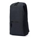 рюкзак городской Xiaomi Mi City Sling Bag для ноутбука, темно-серый