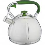 чайник для плиты Kelli KL-4317, 3,0л со свистком (нержавеющая сталь)