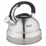 чайник для плиты Zeidan Z-4167 4л (нержавеющая сталь)