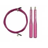 скакалка гимнастическая Original FitTools FT-JR-30, розовая