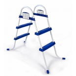 лестница для бассейна Bestway BW58046, бело-синяя