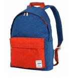 рюкзак городской Nosimoe 003-02D, бирюзово-кирпичный