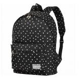 Рюкзак городской Nosimoe 8302-05, горох-черный, купить за 1 005руб.