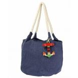 сумка женская Justo Creazione 2423 B AB, синяя
