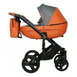 коляска Verdi Orion (3 в 1) 07, оранжевая
