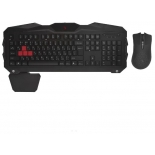 комплект A4Tech Q2100/B2100 (Q210+Q9), USB, проводной, черный