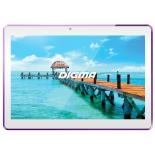 планшет Digma Plane 1541E 4G 2/16Gb, белый/фиолетовый