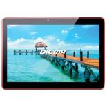 планшет Digma Plane 1541E 4G 2/16Gb, черный/бордовый