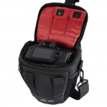 сумка для фотоаппарата Hama Canberra 110 Colt, черная с красным