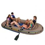 лодка надувная Intex Excursion 68324 (четырёхместная)