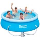 бассейн надувной Bestway Fast Set 57268 (с фильтр-насосом)