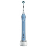 зубная щетка  Oral-B CrossAction PRO-1000, бело-голубая