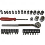 набор инструментов ZiPOWER PM 5158 (головки и биты)