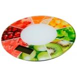кухонные весы Supra BSS-4603 ягоды, белые