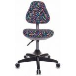 компьютерное кресло Бюрократ KD-2/G/PENCIL-BL, синее (карандаши)