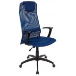 компьютерное кресло Бюрократ KB-8-DB-TW-10N синее