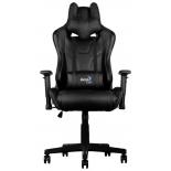 игровое компьютерное кресло Aerocool AC220 AIR-B с перфорацией , черный