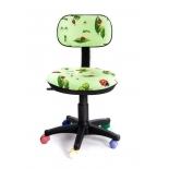 компьютерное кресло Recardo Junior DA06 божья коровка зеленое