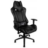 игровое компьютерное кресло Aerocool AC120 AIR-B, черное