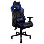 игровое компьютерное кресло Aerocool AC220 AIR-BB, черно-синее